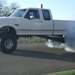 "Tyler's Performance 1997 F250 7.3L Diesel 4x4. 11.5"" lift with 38's 1200 ft/lbs"
